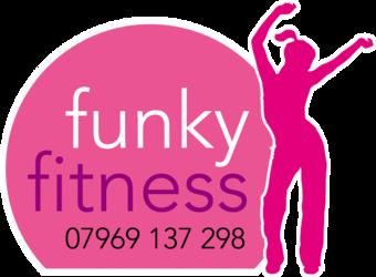Funky fitness logo